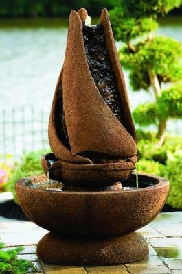 Massarelli Cast Stone Sail Away 3ft Fountain