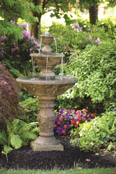 Massarelli Three Tier Harvest Fountain