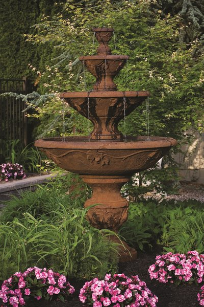 Massarelli Four Tier Harvest Fountain