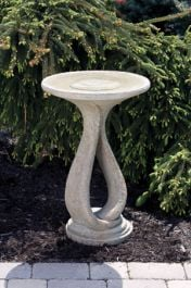 70cm Massarelli One Piece Ribbon Bird Bath