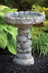 Massarelli Quarry Stone Bird Bath 61cm