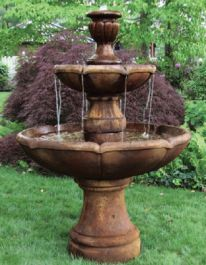Massarelli Two Tier Charlotte Fountain