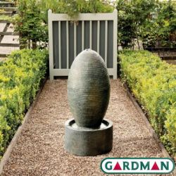 Rippling Ridges Water Feature with Lights by Gardman