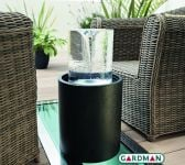 Cyclone Water Feature with Lights by Gardman