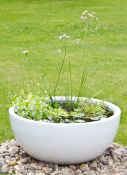 Wildlife Friendly Pond in a Pot Kit with Black Fibreglass 72cm Planter