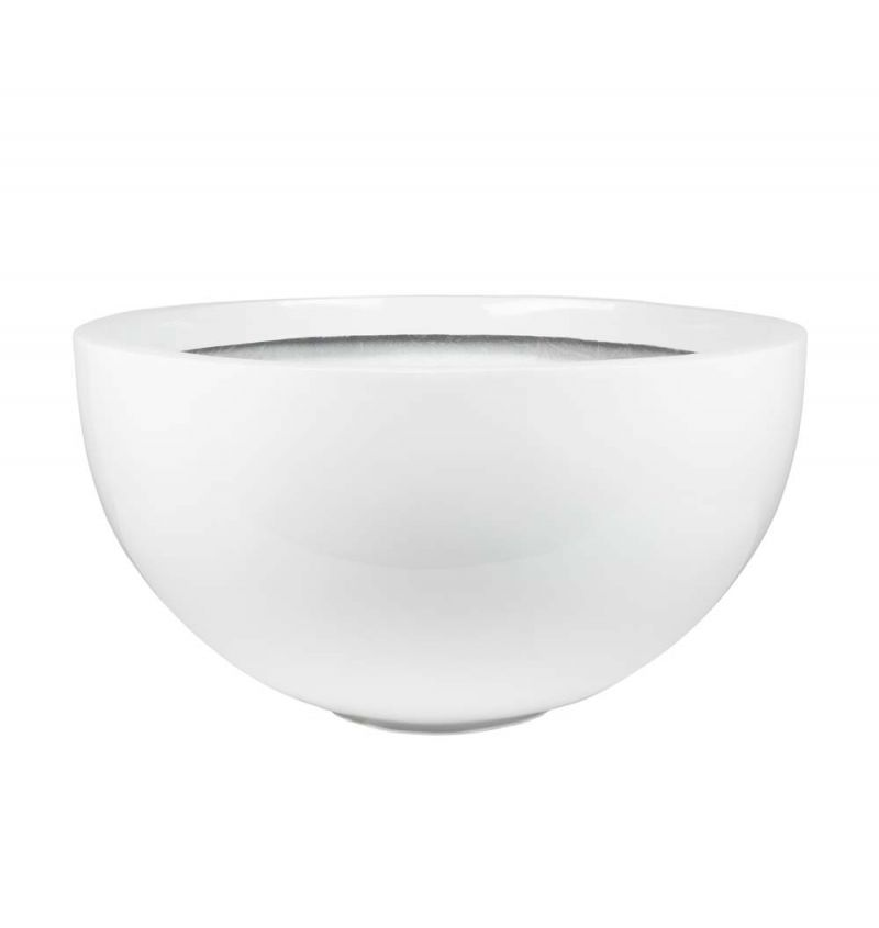 72cm Fibreglass High Gloss Low Bowl Planter - By Fibre-G™