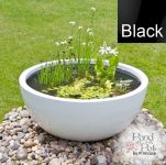 Semi Shade Pond in a Pot Kit with Black Fibreglass 72cm Planter