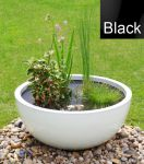 Wildlife Friendly Pond in a Pot Kit with White Fibreglass 72cm Planter