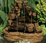 Santa Fe Stone Fountain Water Feature H107cm x W125cm
