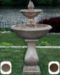 Two Tier Oval Jubilee Fountain in Classic Iron W52cm x H119cm