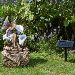 H47cm Fairy Solar Cascading Water Feature