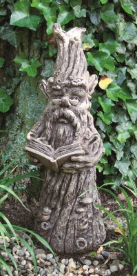 Thinking Tree Cast Stone Sculpture H73cm x W25cm