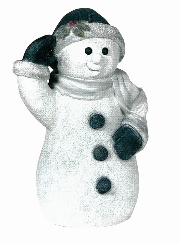 Snowboy- Detailed Finish Cast Stone Statue H55cm x W23cm