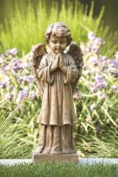 Choir Angel Statue Cast Stone Statue H69cm x W22cm