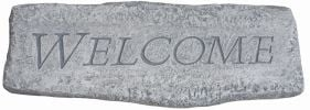 Cast Stone Welcome Bench W2ft 5in x H1ft 2in