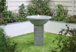 H89cm Bubbling Spring Stone Effect Water Feature