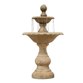 H140cm RHS Harlow 2-Tier Stone Water Feature