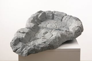 L73cm Grey Stone Effect Watercourse