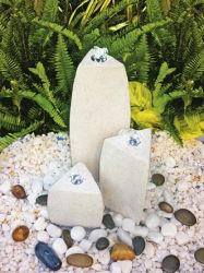 Durona Pebble Pool Water Feature with LED lights