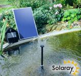 Solar Water Pump Kit - 250LPH With Bright White LED Lights