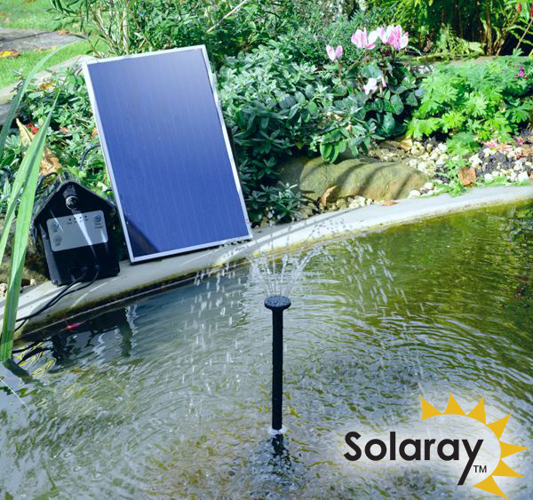 Solar Water Pump Kit - 300LPH With Bright White LED Lights by Solaray™