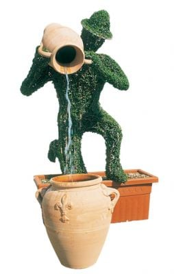 Topiary Water Feature - Leafy Proletariat