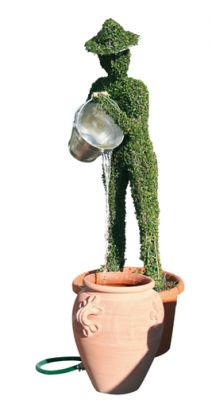 Topiary Water Feature - Bucket Bearer