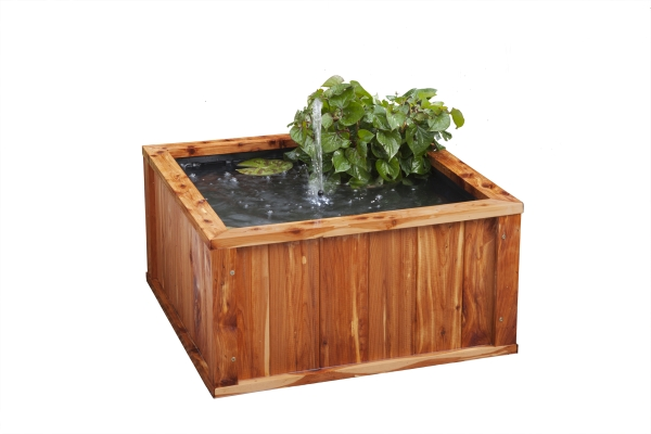 Liberty Natural Cedar Fountain Pool (60cm)