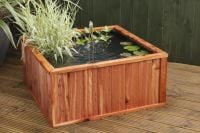 Liberty Natural Cedar Fountain Pool (80cm)