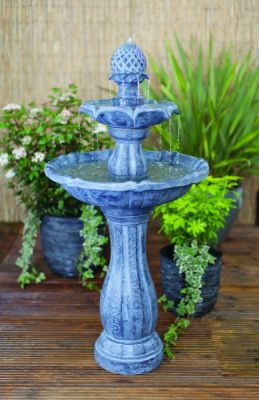 Liberty Three Tier Classic Fountain Mains Free Water Feature