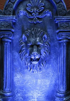 Liberty Lion Wall Fountain Mains Free Water Feature