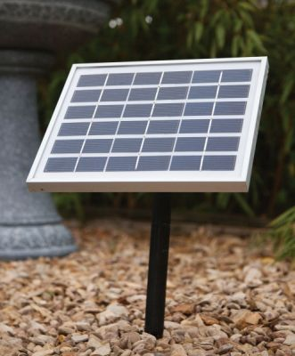 Liberty 5w Solar Panel to run all Liberty Battery Powered Water Features