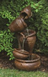Henri Studios Juggling Jugs Water Feature