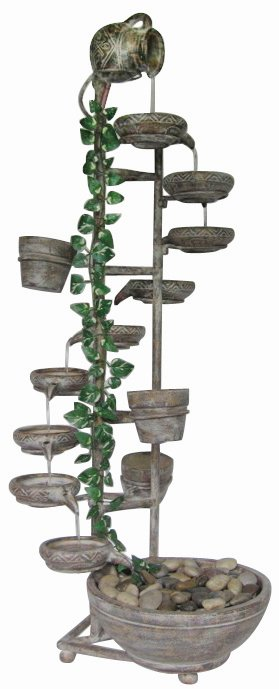 10 Tier Cipriano Spills Cascade Water Feature
