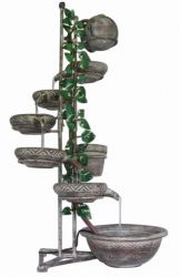 6 Tier Piza Spills Cascade Water Feature
