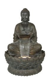 Giant Sitting Buddha Water Feature