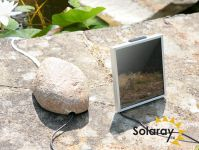 Solar Aerator/Oxygenator 1 Stone with Pebble Cover by Solaray™
