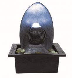 H21cm Perano Table Top Indoor Water Feature with Light