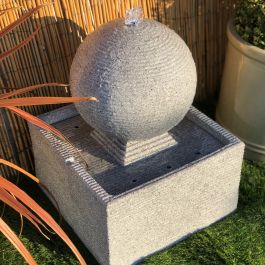 50cm Zen Rippling Sphere Water Feature