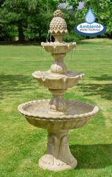 H150cm Regal Antique Effect 3-Tier Water Fountain