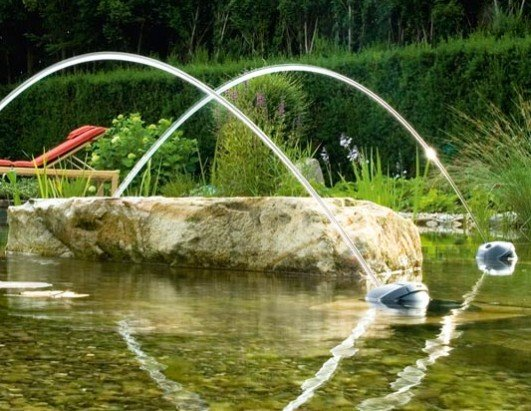 Oase Jumping Jets Water Feature - Rainbow Star