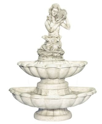 Sofia 2 Tier Water Feature Figurine by Ambient�