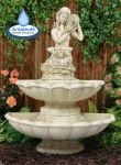 Sofia 2 Tier Water Feature Figurine by Ambienté