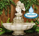 Eolande Water Feature Figurine by Ambient� - H82cm