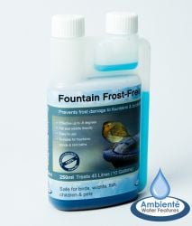 250ml Fountain Frost Free - For Birdbaths, Fountains & Ponds