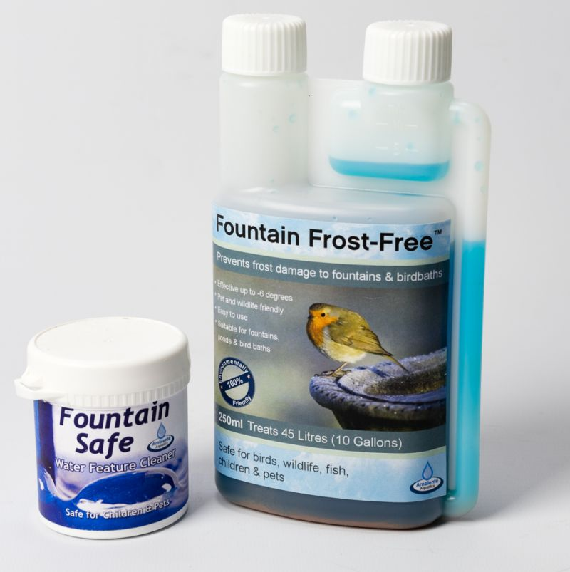 Primrose Fountain Frost-Free, 250ml (For Bird Baths, Fountains & Ponds)
