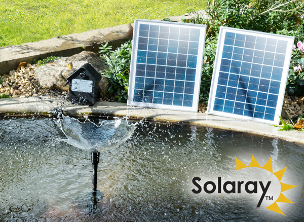 1,550LPH Solar Water Pump Kit with Lights & Battery Backup by Solaray