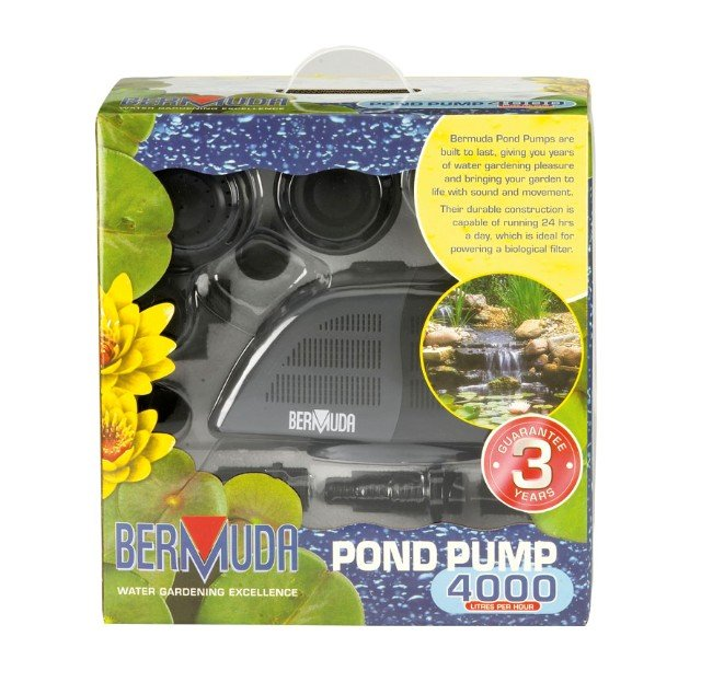 Bermuda Pond Pump/Fountain 4k LPH