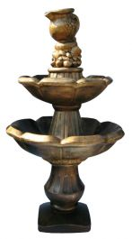 2 Tier Jug Cascading Sandstone Water Feature