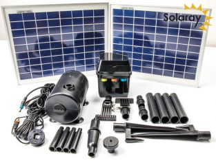 1,200LPH Solar Water Pump Kit with Lights by Solaray